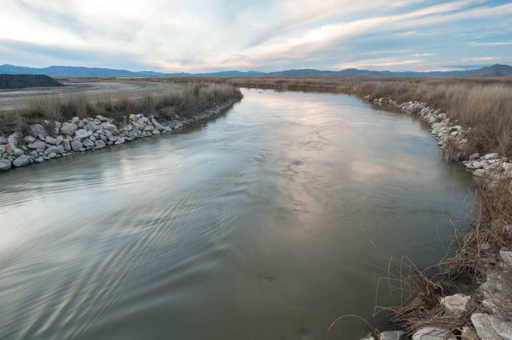 Old River Channel, Bear River Migratory Bird Refuge, Utah, 2016