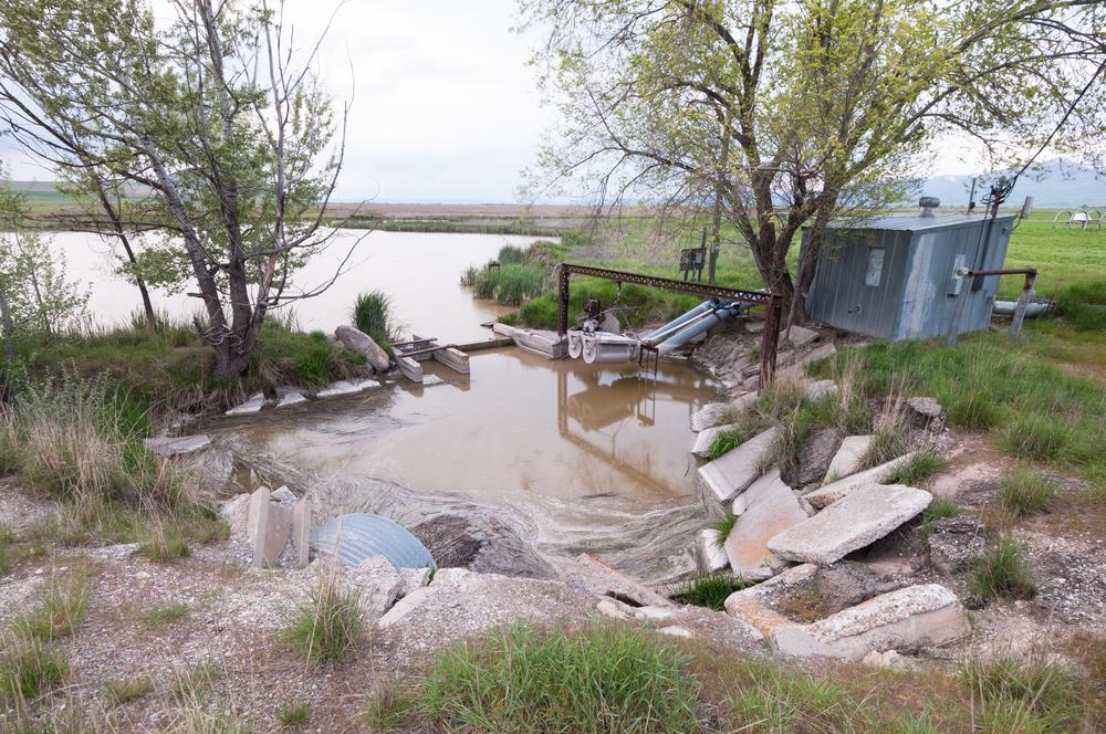 Irrigation Pump House, Clay Slough, Utah, 2016