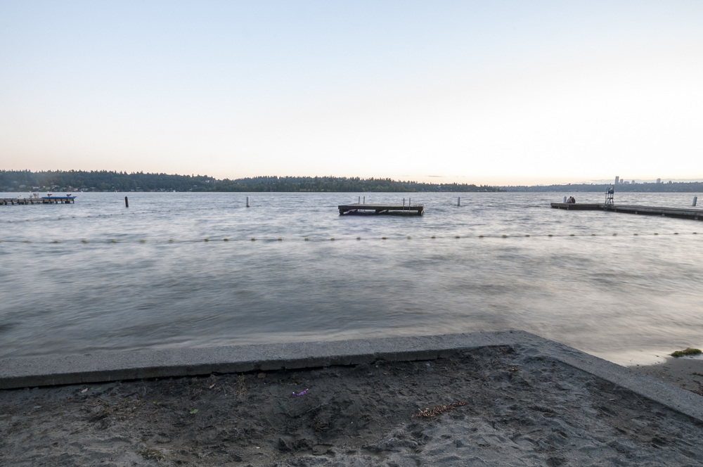 Chism Beach, Lake Washington, Bellevue, Washington 2016