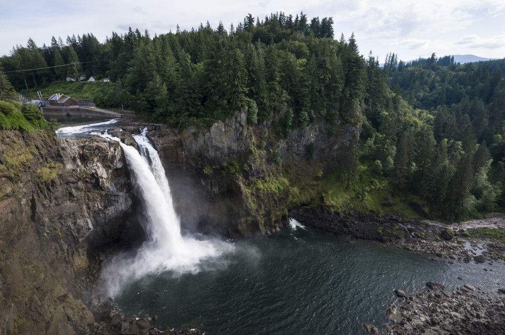 Snoqualmie Falls, Snoqualmie, Washington 2016