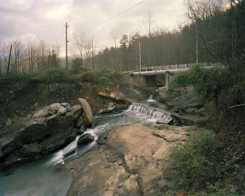 Watermain for the City of Asheville, The Swannanoa River, Black Mountain, North Carolina, 2007