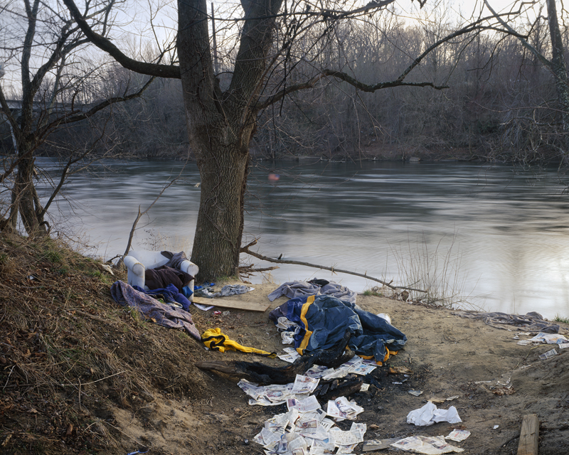 Campground, The French Broad River, Asheville, North Carolina, 2006