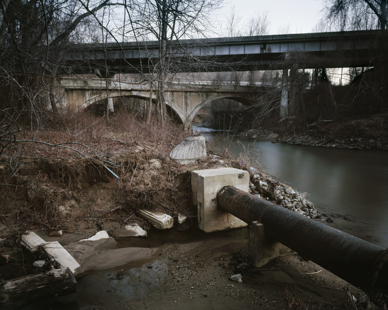 Hominy Creek, Asheville, North Carolina, 2006
