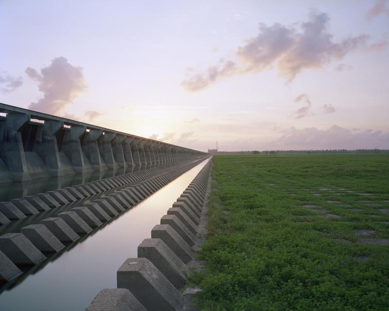 Bonnet Carré Spillway, Mississippi River, St Charles Parish, Louisiana, 2012