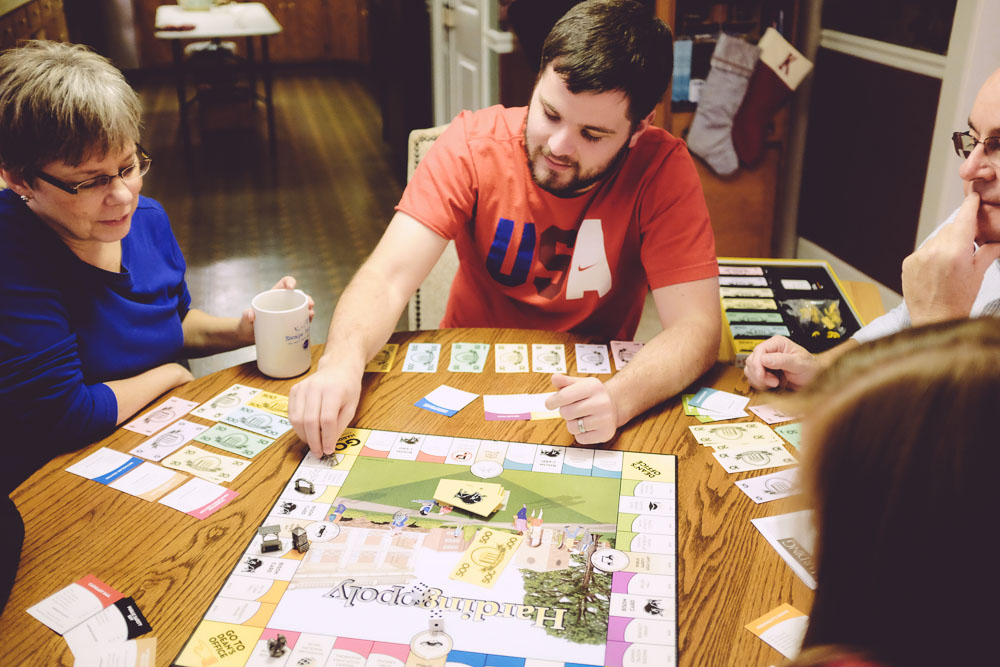Hardingopoly - the best version of Monopoly ever for a Harding alum.