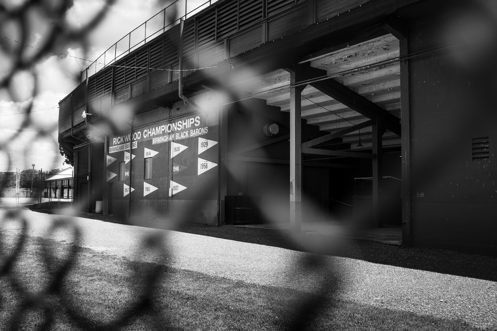 The Oldest Baseball Park in America | Birmingham, AL | Fujifilm x100s