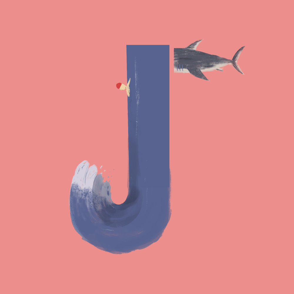 """J"" for 36 days of type"