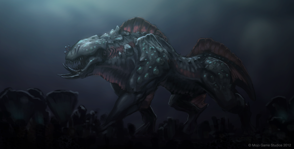 Swamp Stalker - concept art from Cradle.  Click here to see more at Mojo Game Studios