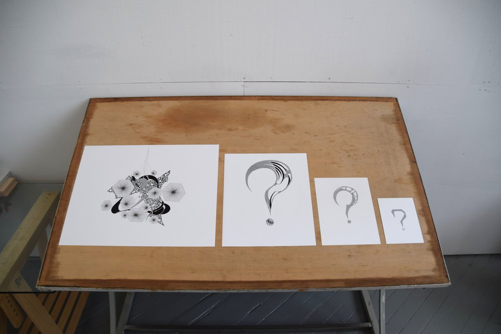 Mystery Commissions:    Original drawings drawn just for you.