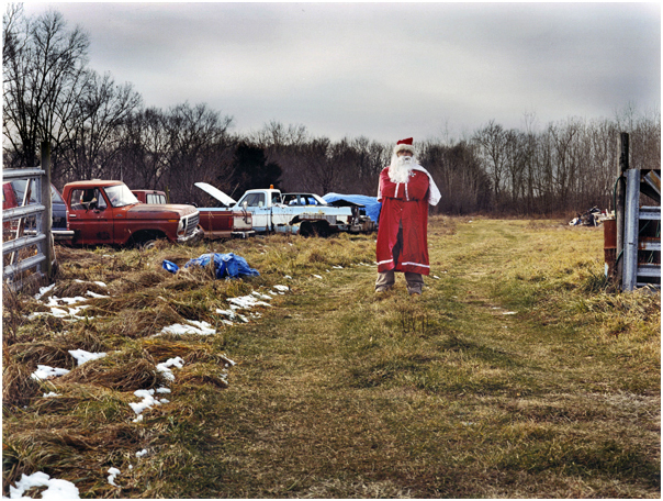 Ku Klux Klaus at the Klan compound. Osceola, IN. 2004.