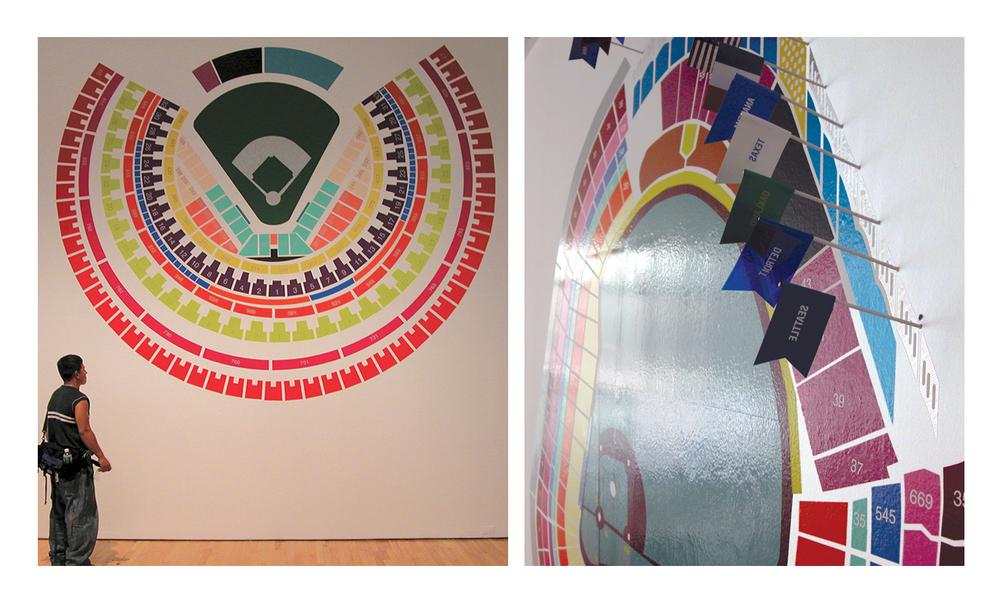 Information Retrieval 88 (Shea Stadium). Information Retrieval 87 (Yankee Stadium). Dimension variable.