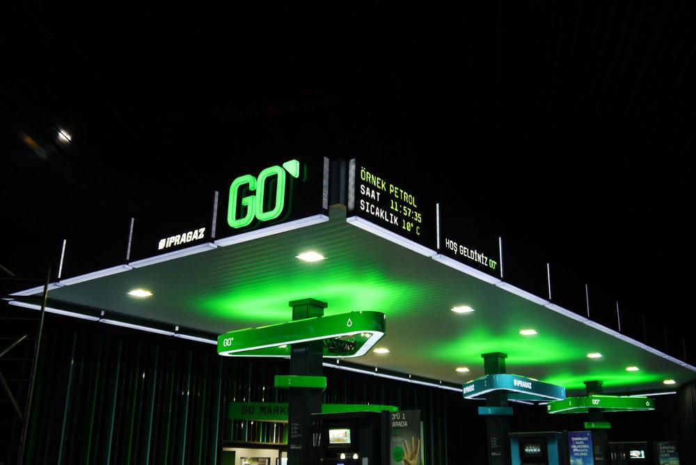 GO service station -