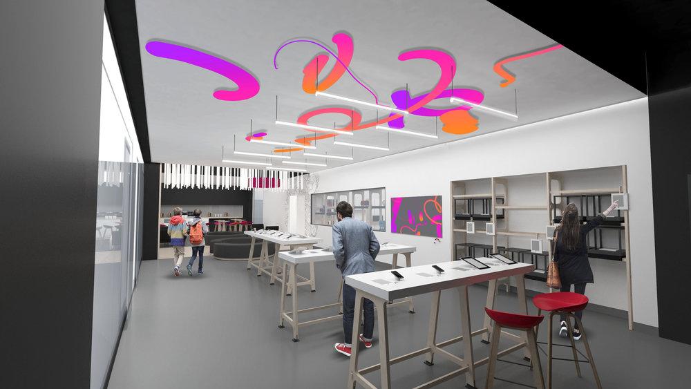 Bq retail concept -