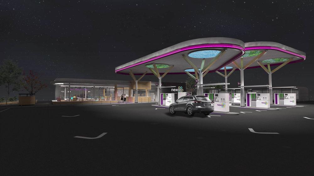 Nexoo Service Station -