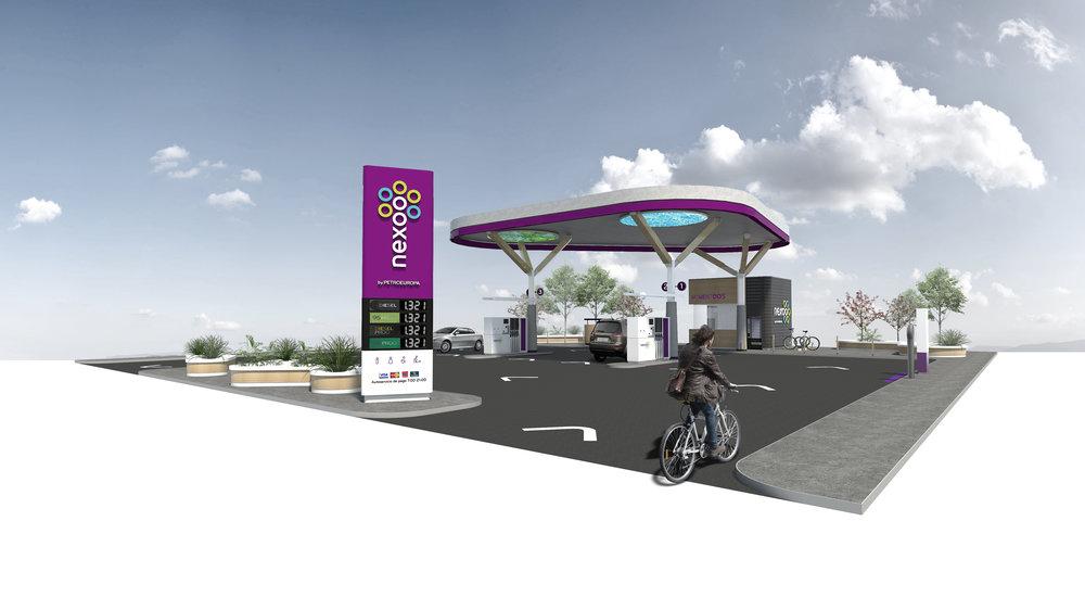 estacion servicio gasolinera