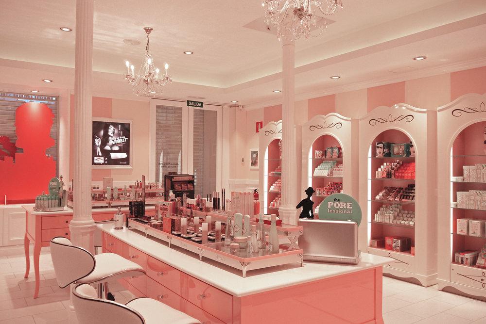 cosmetic retail design