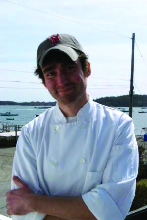 Executive Chef Charlie Anderson.