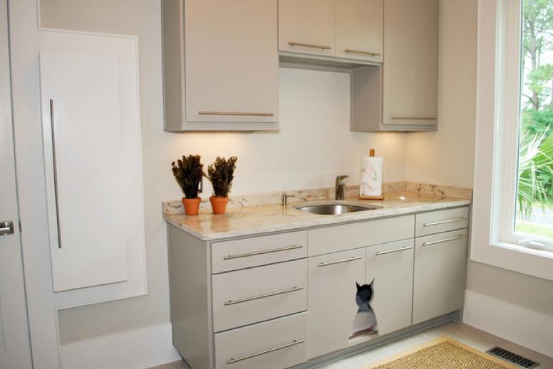 cat box cupboard