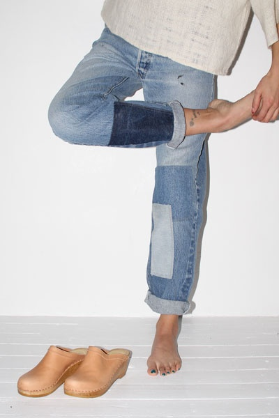 N°6B-Side Jeans