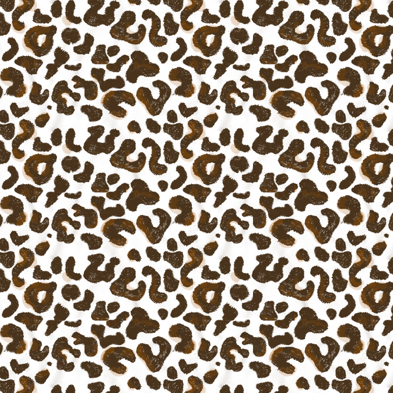OK, I'm finding it hard to post regularly, although I decided to challenge myself and post a new pattern design every week of 2014 ... Here's a leopard one to try and get that graphic beast out there ! If I'd stuck to my intentions, I should be posting pattern #20 today ... So I'm 12 patterns behind, posting at a pace of  about 2 patterns a month. May has only just started, so I'm in the statistics :D