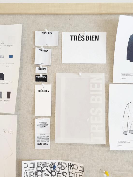[[ Labels and stationary by  Très Bien /// Griffes et papeterie chez  Très Bien Shop ]]