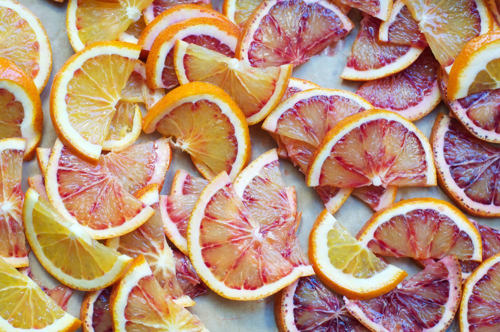 [[Gorgeous citrus forming a pattern, by my dear Rebecca///Des agrumes juteux comme un motif, par ma chèreRebecca]]