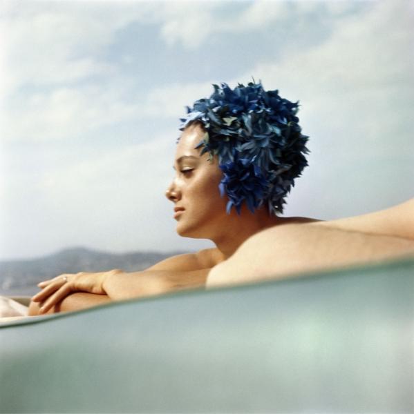 Sylvana Empain -Juan-les-Pins, Août 1961