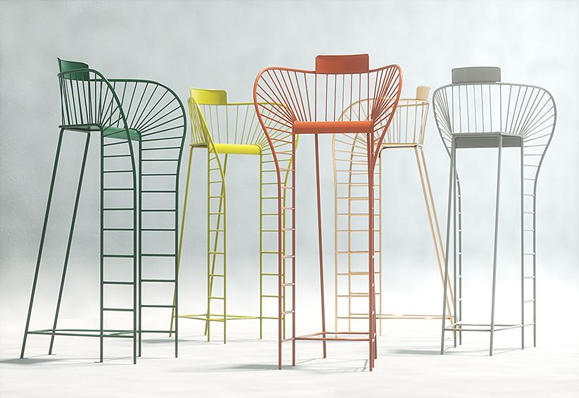 [[I want one of these umpire chairs in my living room! If Stéphanie Langardcan hearme ... :)///Je veux une de ces chaises d'arbitre dans mon salon ! Si Stéphanie Langard m'entend ... :)]]