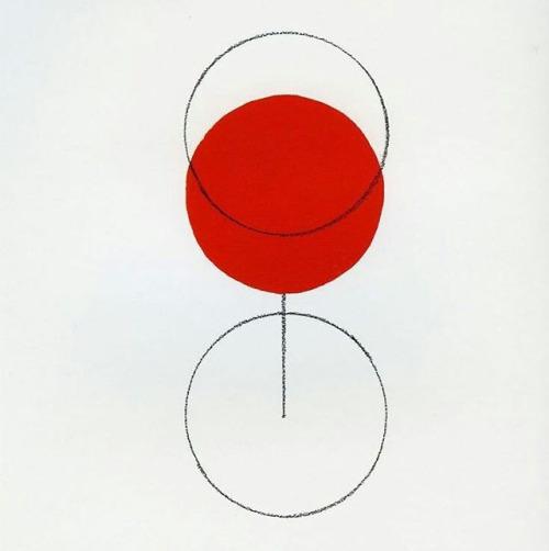Glass of Beaujolais | Alan Fletcher, 1994 (personal work)