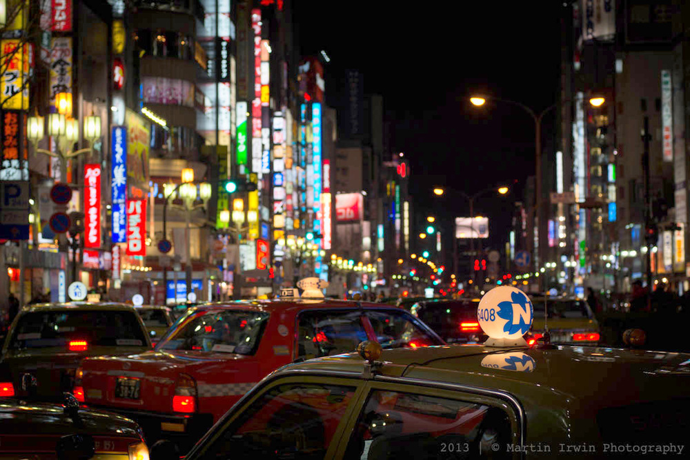 Taxis in Tokyo