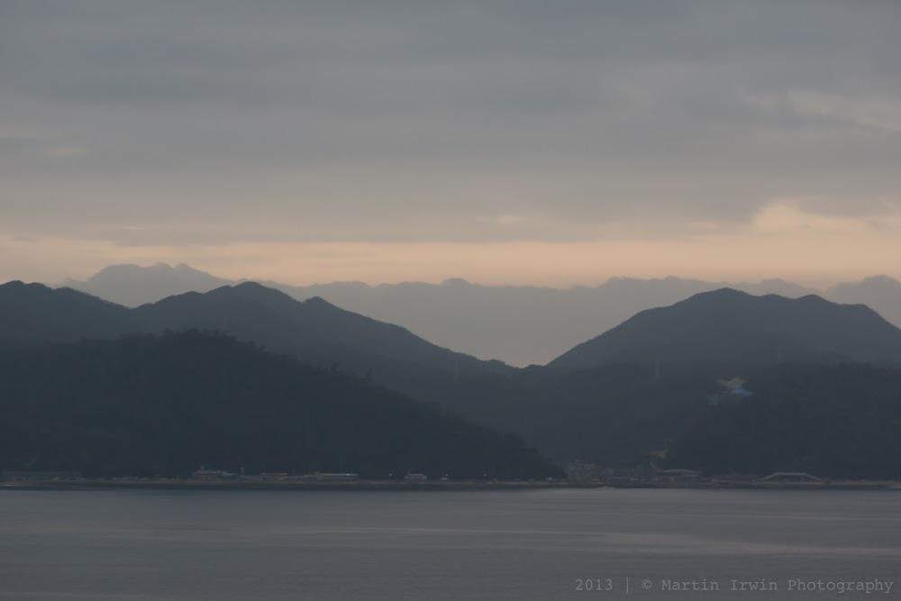 Sunrise in Nago-city