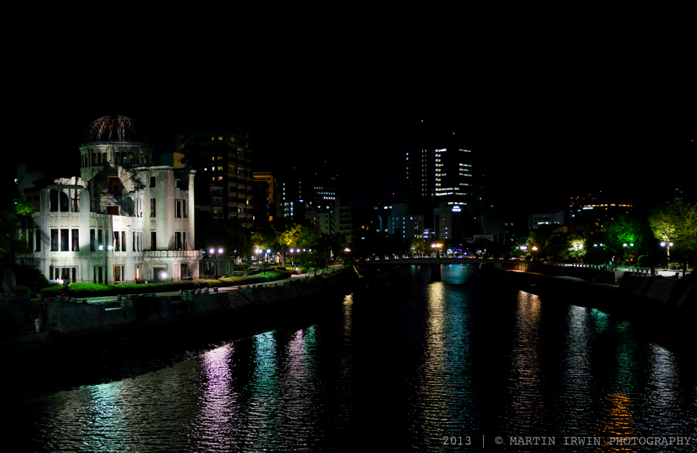 Hiroshima from Aioi Bridge