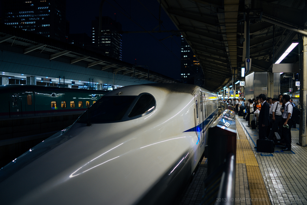 N700 Series Nozomi  to Kyoto