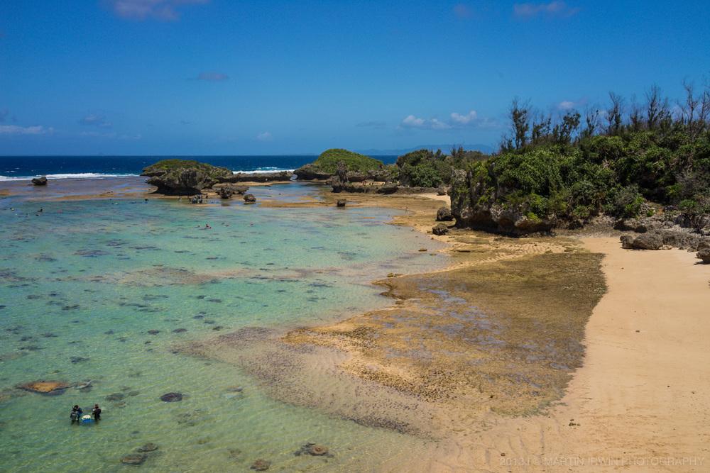 Cape Maeda is a diving & snorkelling hot-spot