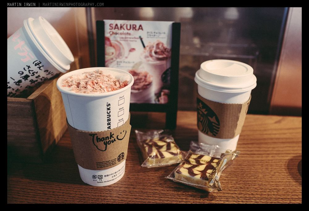 Sakura Latte - only in Japan