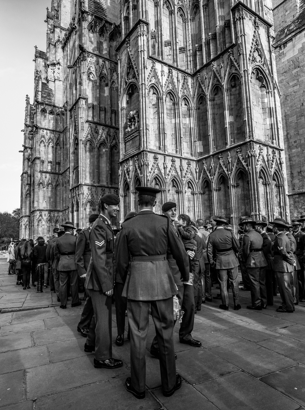 Remembrance Sunday at York Minster | A7R & Voigtländer Super Wide Heliar 15mm F4.5 | 1/160s f/4.5 ISO320 15mm