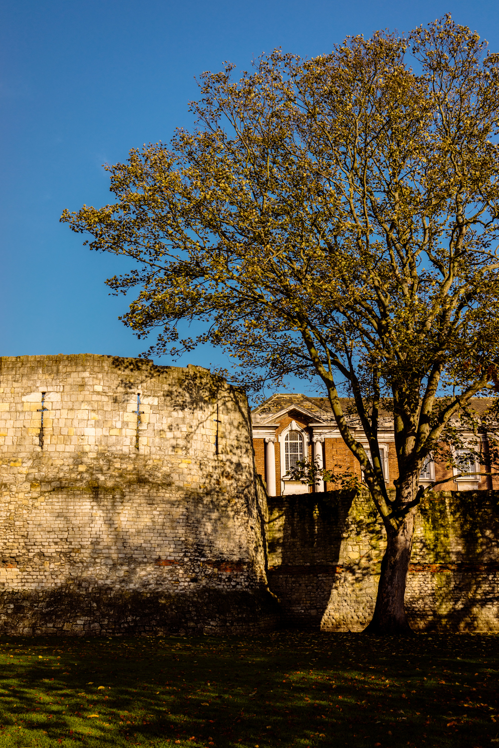 The Multangular Tower and Roman Wall | A7R & SEL35F28Z | 1/1250s f/4.5 ISO100 35mm