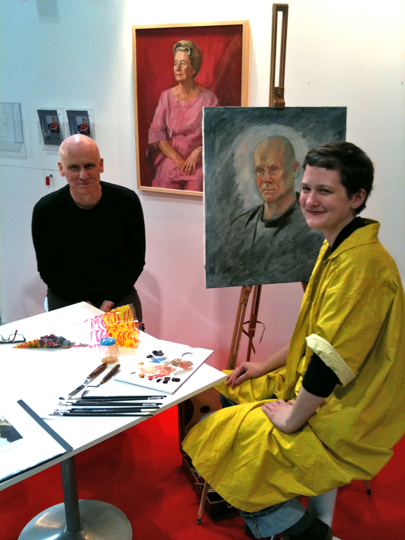 Portrait Demonstration at the Art360 Booth