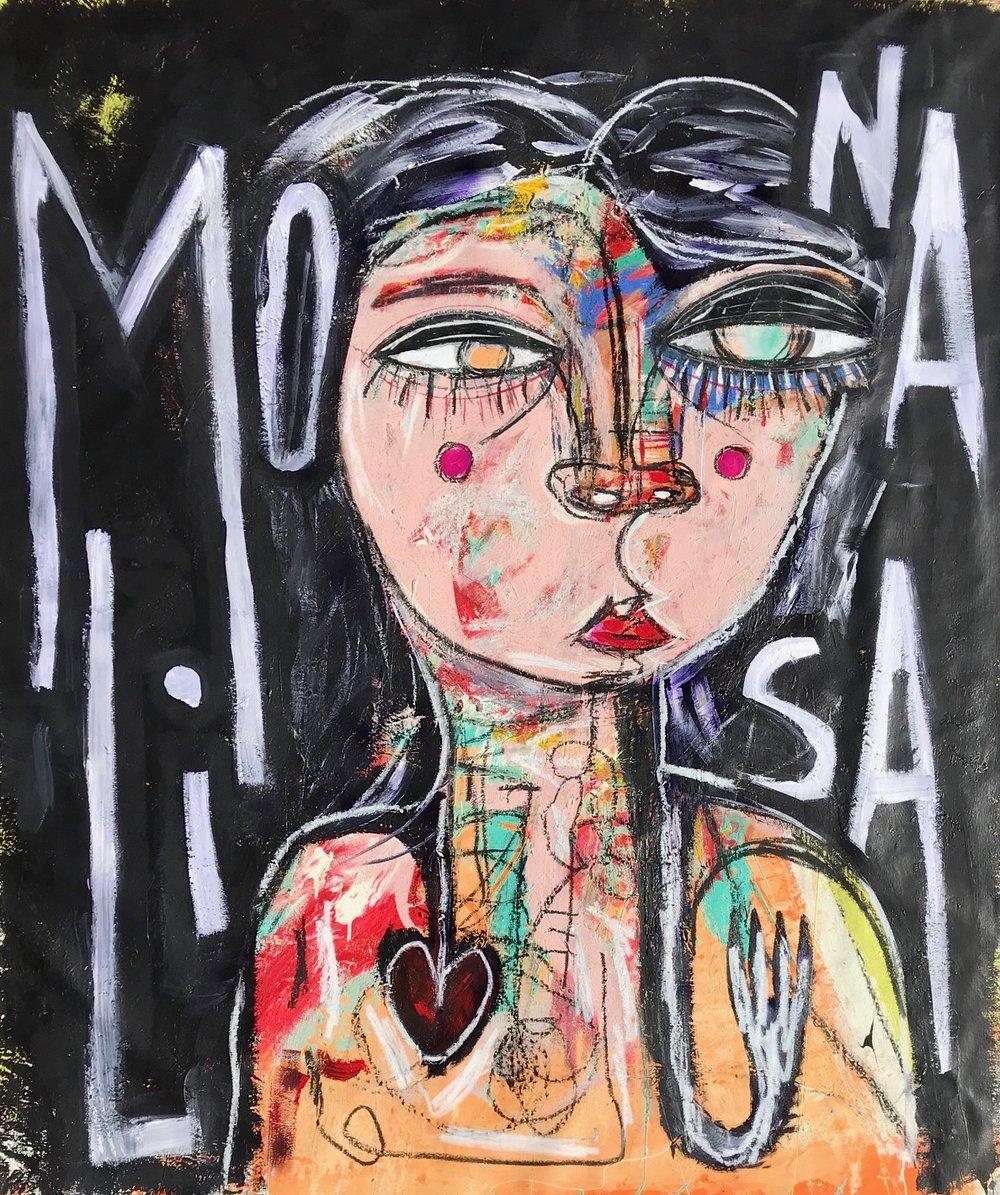 LA MONA LISA. SOLD
