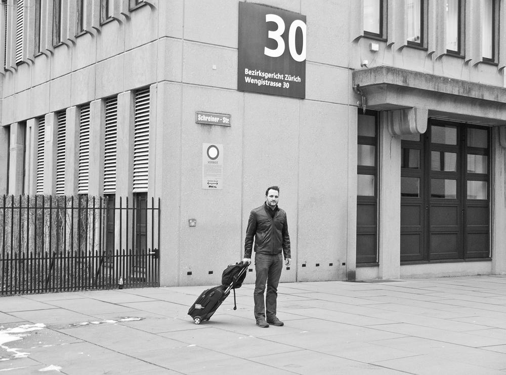 © Employé anonyme de la voirie de Zurich