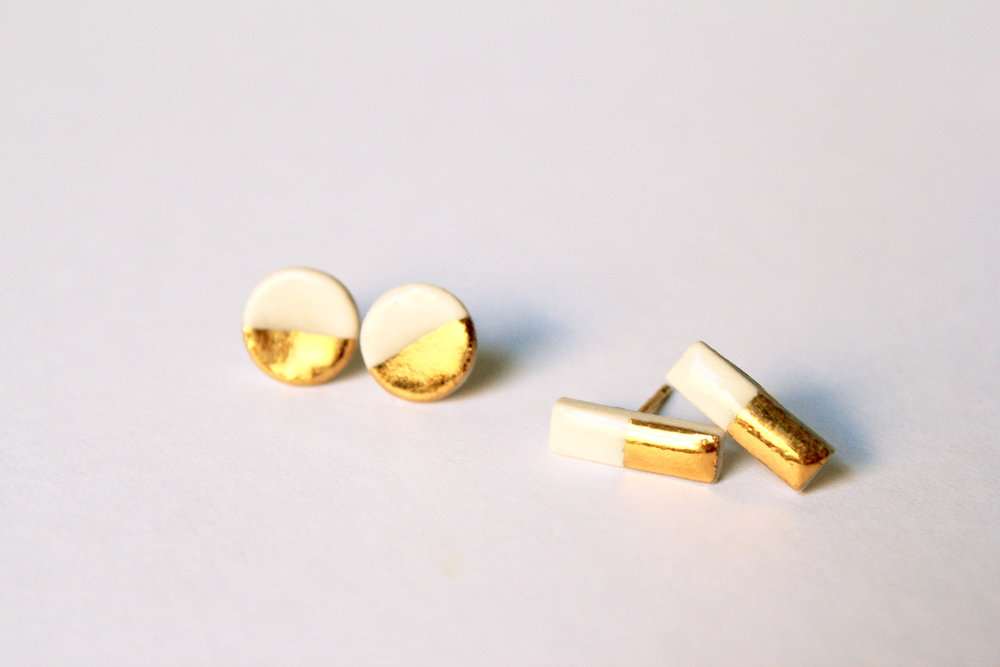 Gold Dipped Studs