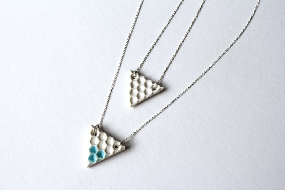16 Honeycone Triangle necklace(1).jpg