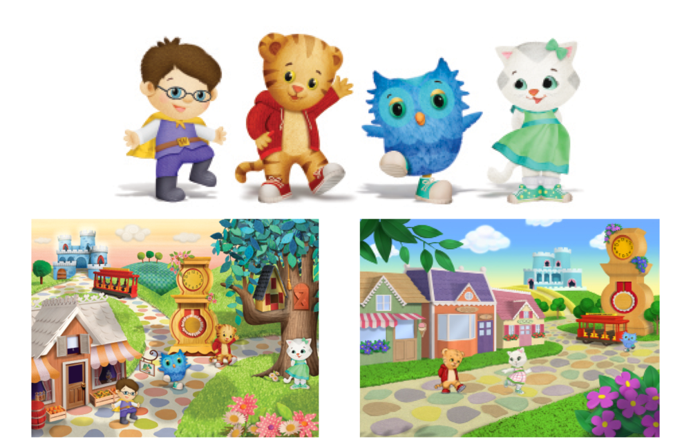 CP / Daniel Tiger's Neighborhood / PBS / Out of the Blue Enterprises