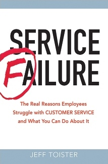 A customer service book by Jeff Toister