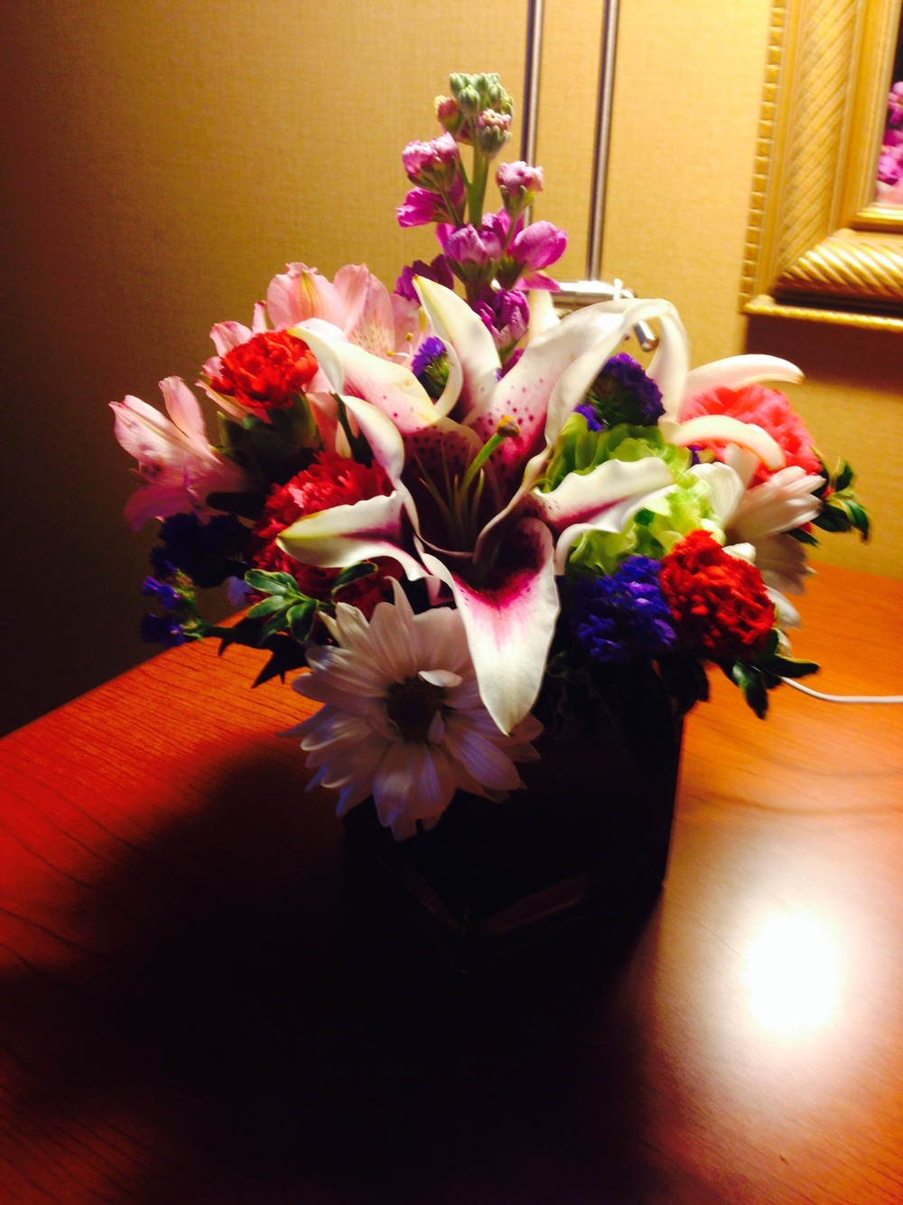 Sally's Mom loved the bouquet ordered through ProFlowers.
