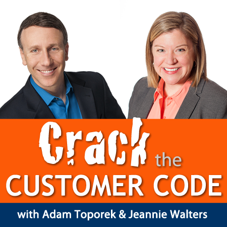 Image courtesy of Crack the Customer Code.