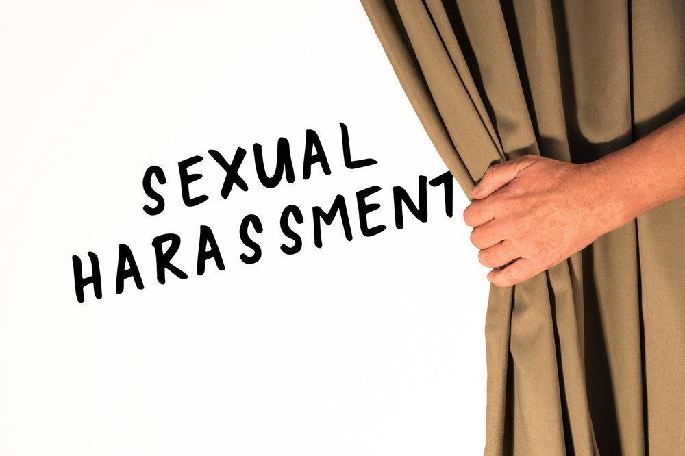 Unreasonable behavior sexual harassment