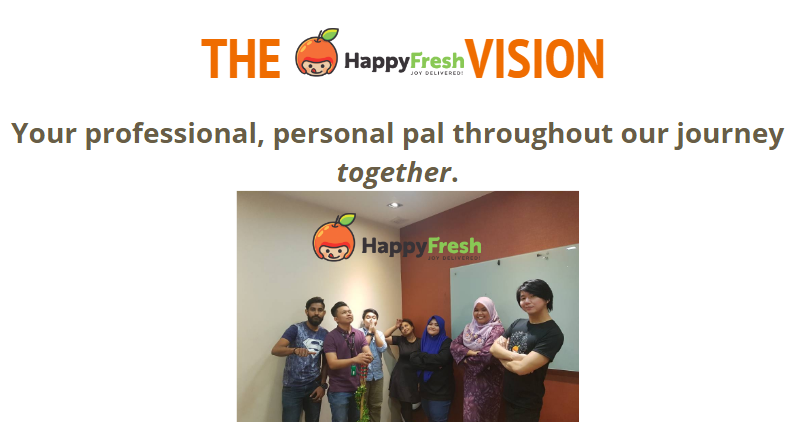 The HappyFresh customer service team.