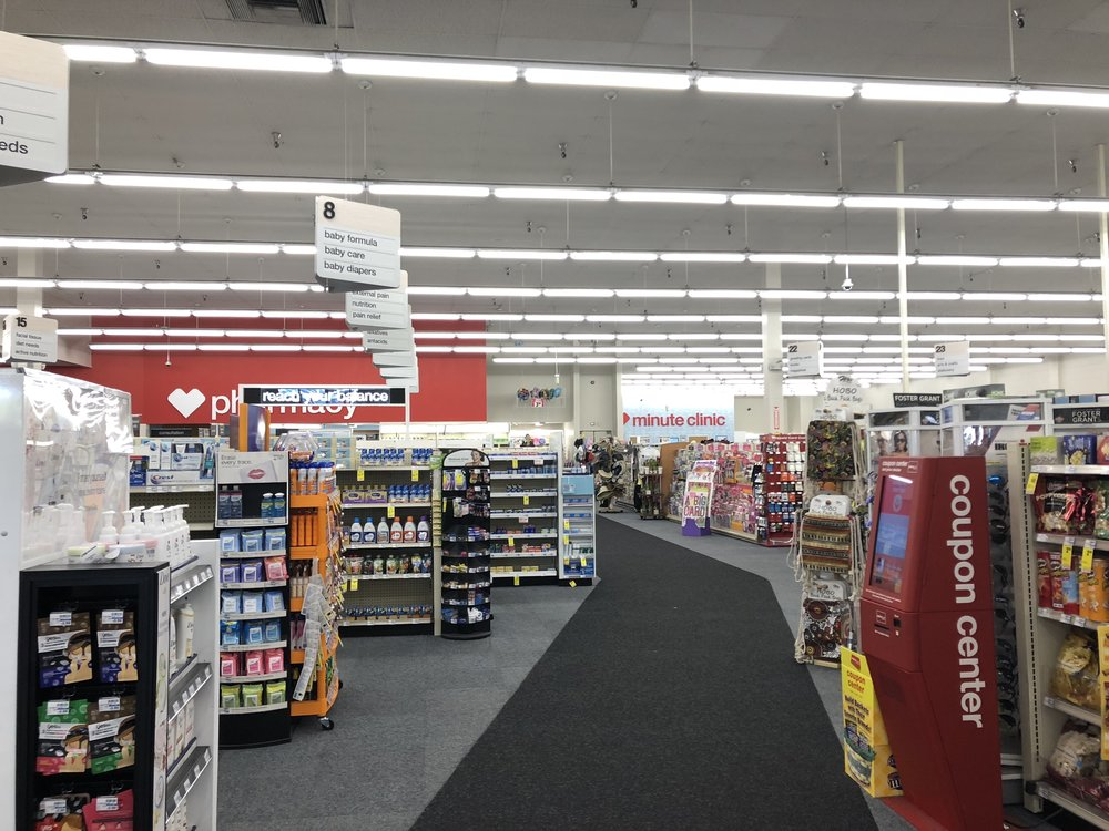 Inside a CVS drugstore.
