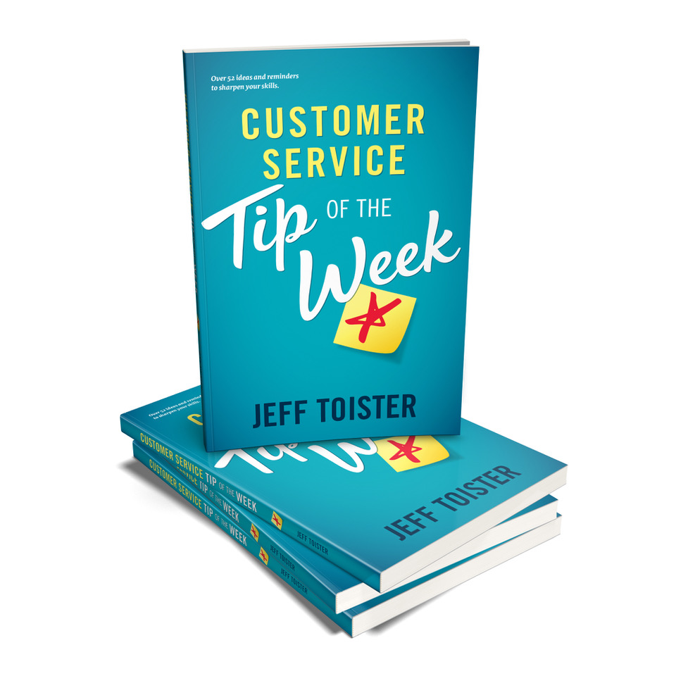 Cover image of the  Customer Service Tip of the Week  book.